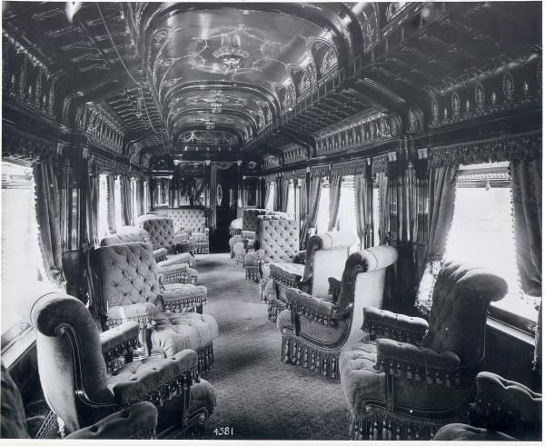 The Train It Was Supplied With Saloon Cars Balcony Restaurants And Smoking Theatre Alone Were Wanting They Will Have These Some