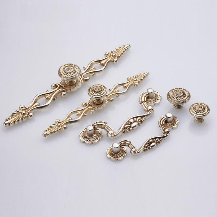 Dresser Knobs Pulls Drawer Knobs Pulls Handles Antique Silver Kitchen  Cabinet Handles Knobs Door Handle Cupboard
