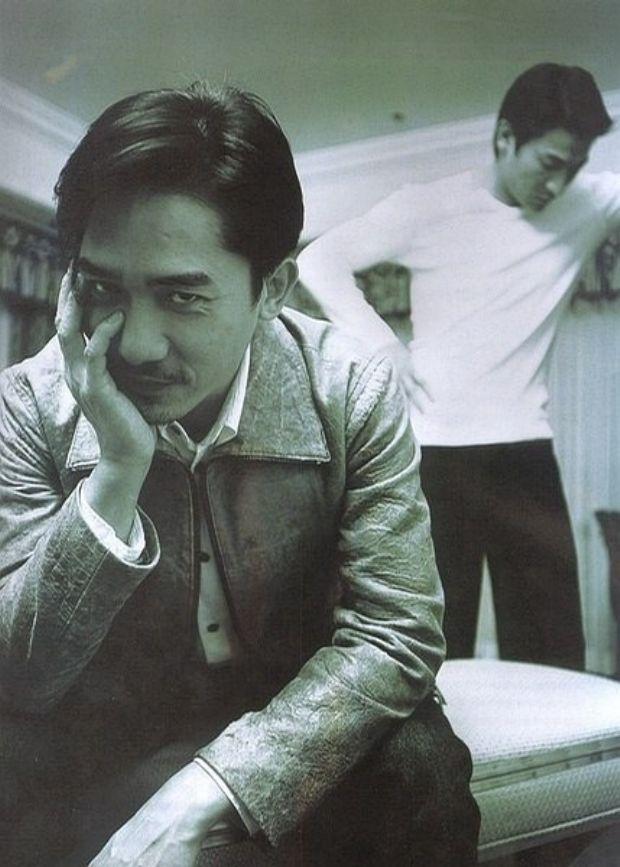 Tony Leung & Andy Lau #Infernal_Affairs