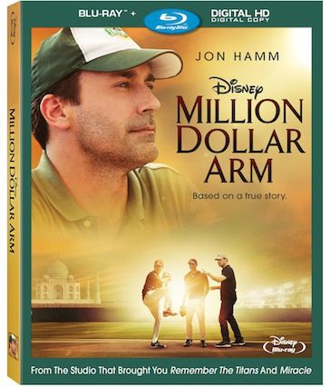 """""""Million Dollar Arm"""" Coming to Blu-ray™, DVD and Digital HD October 7th."""