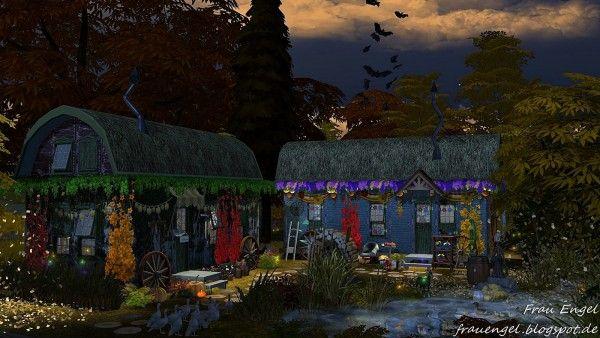 Frau Engel: Fortune Tellers Wagon • Sims 4 Downloads