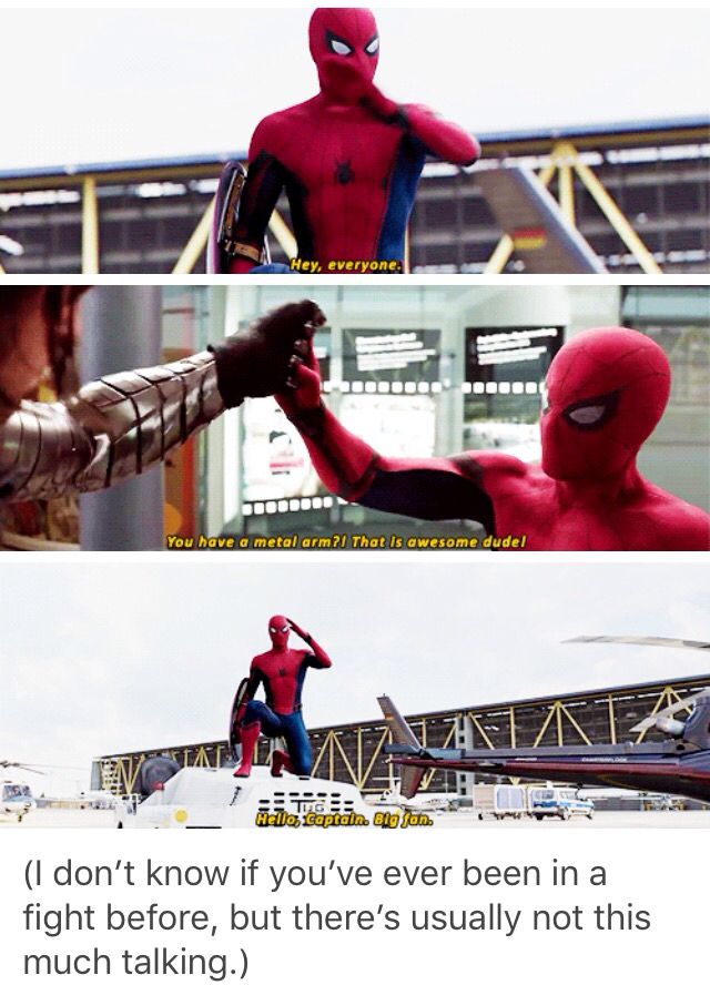Spiderman everyone :)