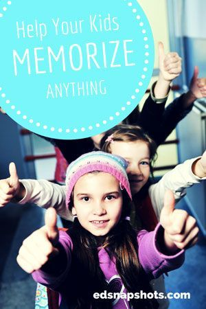 Help your kids memorize anything |Everyday Snapshots