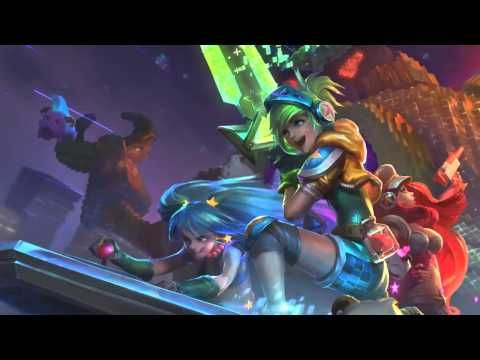Arcade League Of Legends Login Screen With Music