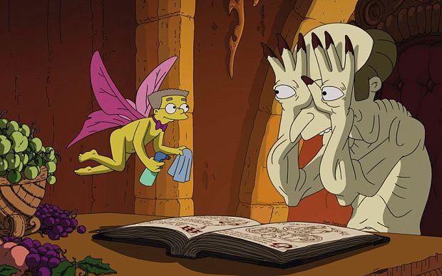 The Simpsons parodies Pan's Labyrinth