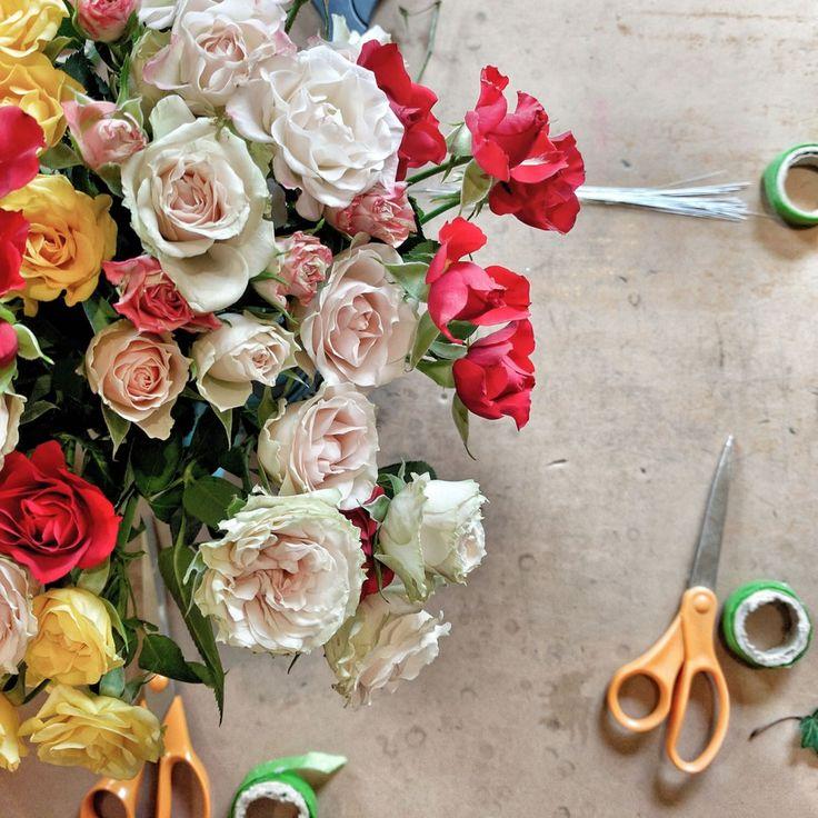 Flower crown workshop with Petite Fleur