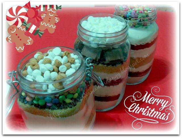 Sulla scrivania di Melangy: Biscotti in barattolo: regalo di Natale home-made!...