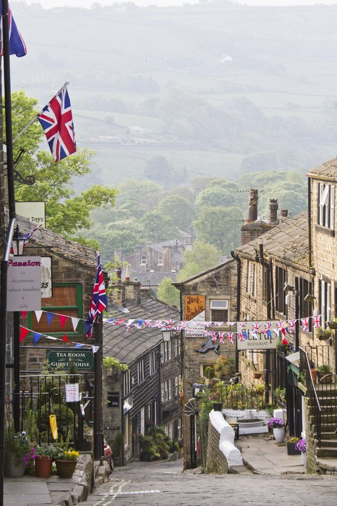 haworth,Bradford,West Yorkshire,UK A lovely place to go to potter about. Stunningly beautiful in the snow