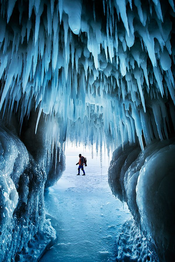 """""""Ice Age""""—Apostle Islands National Lakeshore, USA (by Ian Plant)"""