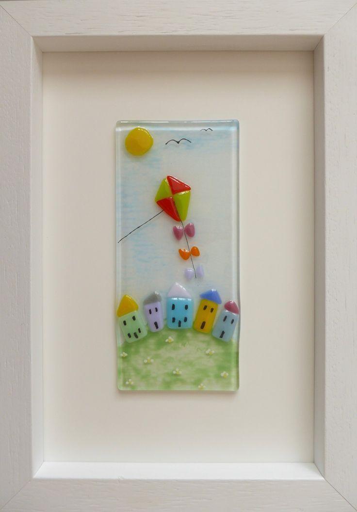 PINK PEBBLE GLASS DESIGNS - Fused glass artwork