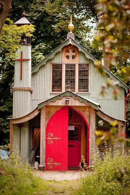 Walcot hall tin Chapel - Google Search
