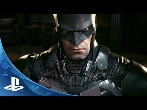 Official Batman: Arkham Knight -- Batmobile Battle Mode Gameplay footage | E3 2014 | PS4