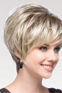 2013 Synthetic Lace Front Classic Grey Ladies' Wig - wigworlds.com