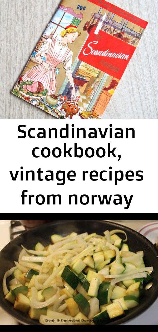 Scandinavian Cookbook Vintage Recipes From Norway Sweden And Denmark Vintage 1950s Scandinavian 1 Vintage Recipes Recipes German Potato Pancakes