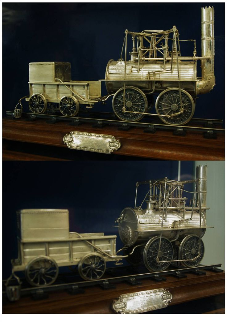 a model at the National Railway Museum Shildon