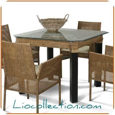 .Indonesia Table rattan