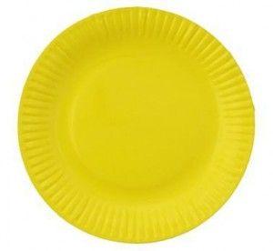 Kolorowe talerzyki- bo mnogość kolorów na imprezie w stylu hawajskim jest najważniejsza