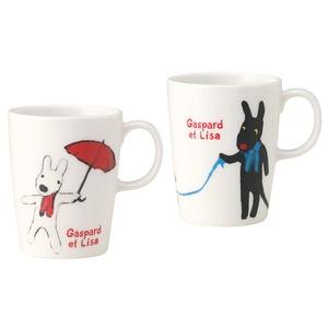 Gaspard et Lisa mugs