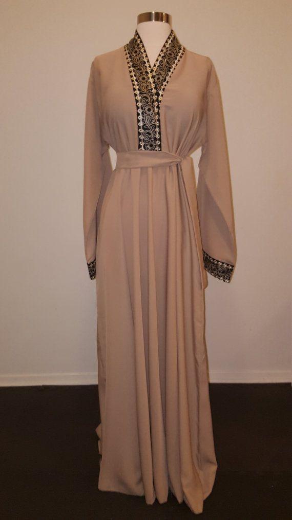 Eid Dress Overhead Dubai Abaya Caftan by OumYasinCollection