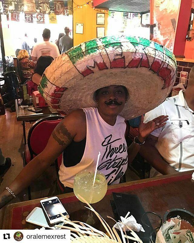 Credit to @oralemexrest ・・・ #tequila #sombrero #maracas #fiesta #margaritas #cincodemayo #bigote .  .  . #Hollywoodtapfl #HollywoodFL #HollywoodBeach #DowntownHollywood #Miami #FortLauderdale #FtLauderdale #Dania #DaniaBeach #Aventura #Hallandale #HallandaleBeach #PembrokePines #Miramar #Broward (at Orale!! Mexican Restaurant)