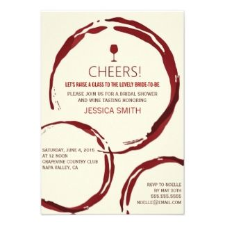 Wine and Cheese Invitation Template | ... Wine Theme Invites, 109 Bridal Shower Wine Theme Invitation Templates
