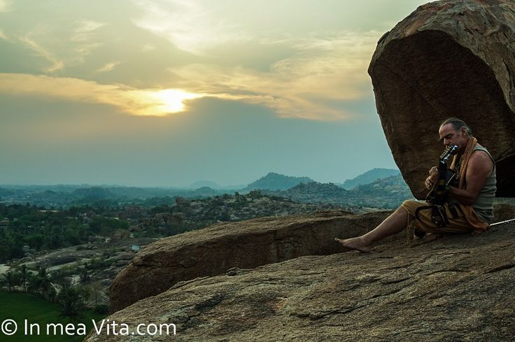 Закат в Хампи. Sunset in Hampi. © На моем жизненном пути