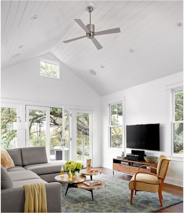 High Quality Aluminum Fan Pitched Ceiling, Discover Home Design Ideas, Furniture, Browse  Photos And Plan Projects At HG Design Ideas   Connecting Homeowners With The  ...
