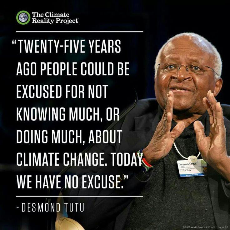 Climate Change Quotes: 25+ Best Ideas About Desmond Tutu On Pinterest