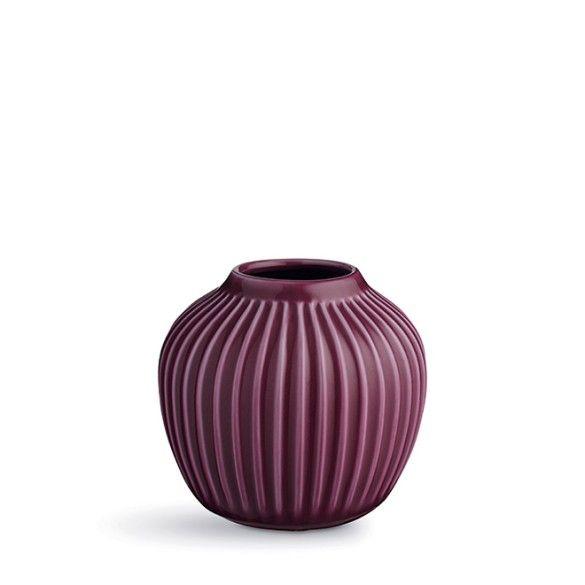 Hammershøi vase small plum