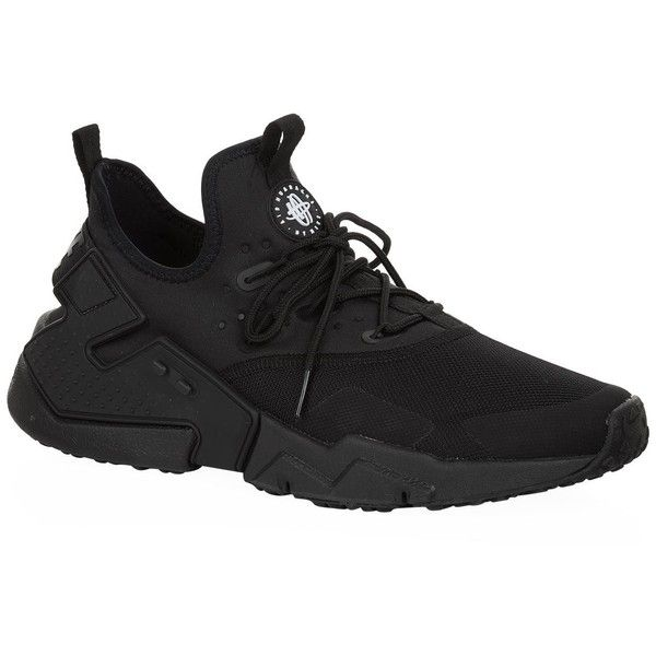 Nike Air Huarache Drift Sneakers ($140) ❤ liked on Polyvore featuring men's  fashion,