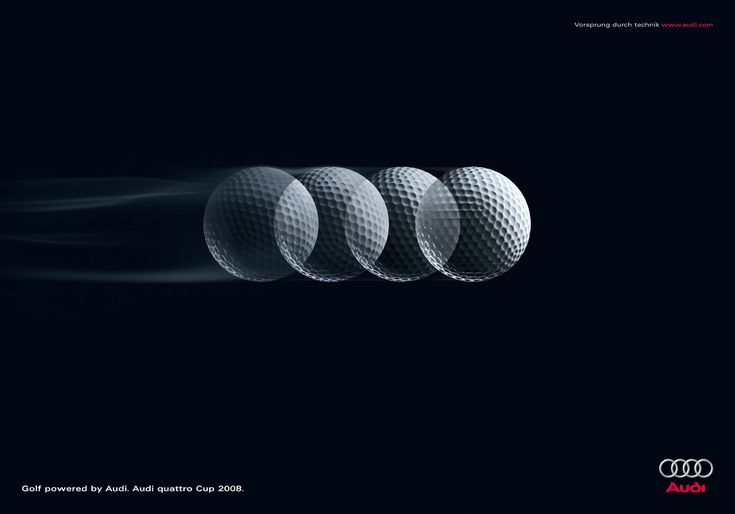 Audi: Golf   The Ad Mad! - Creative Advertising, Art and Design blog