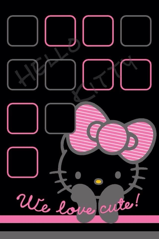 44 best hello kitty wallpapers images on pinterest hello kitty hello kitty wallpaper for i pod i phone voltagebd Images