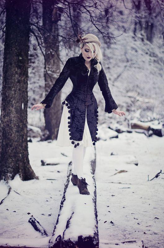 Vintage Winter Portraits