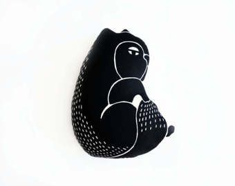 Image result for nursery squirrel clipart black and white