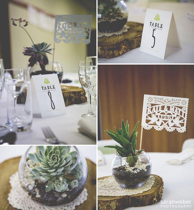 Bespoke Wedding Table Numbers. Designed by www.somethingandc... Photo by www.sarahweber.co.nz