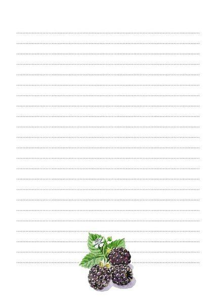 Blackberry paper
