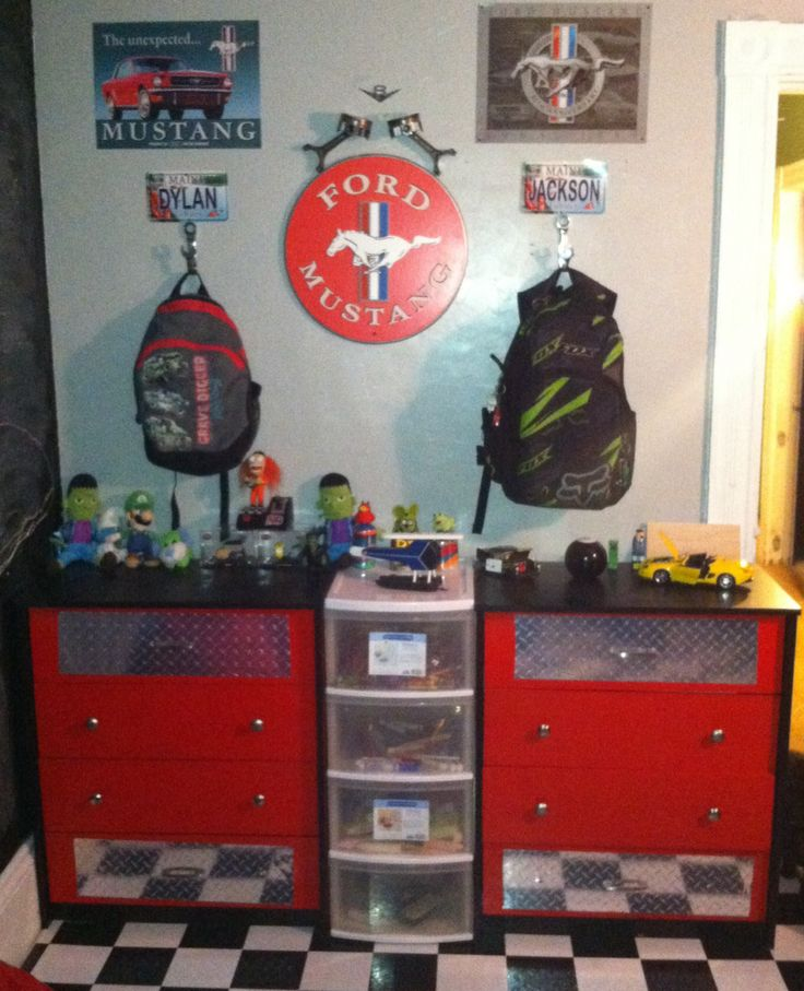 Cool Toy Box For Boys : Best images about playroom on pinterest kids cars