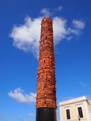Totem old San Juan
