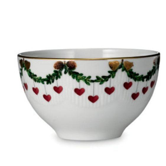 royal copenhagen star fluted christmas chocolate bowl christmas dishes christmas