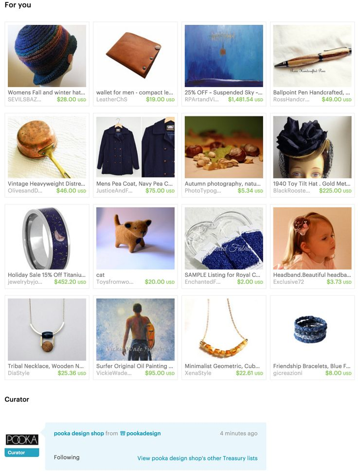 For You - #Etsy Treasury by pookadesign