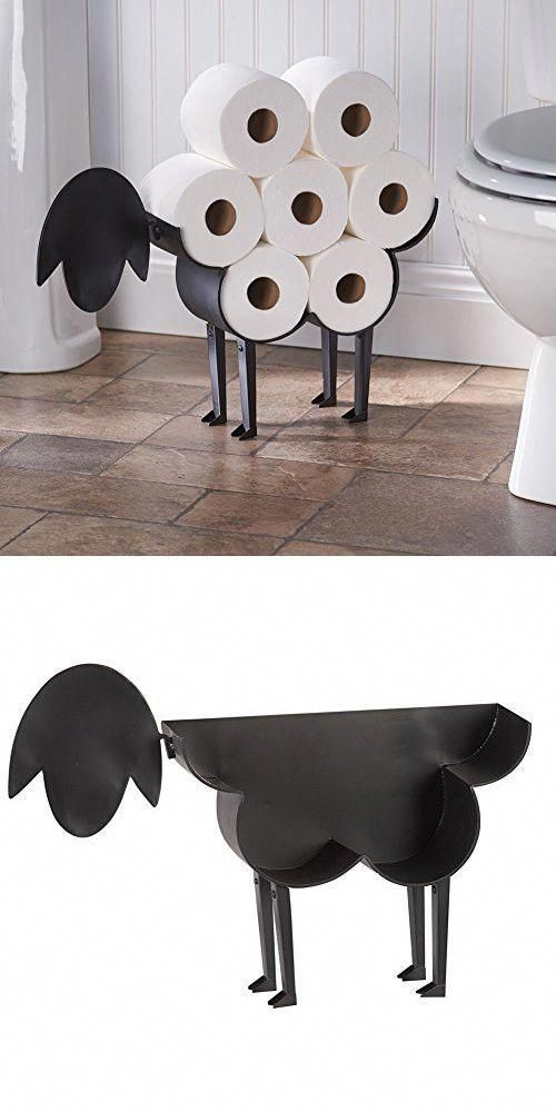 Sheep Toilet Paper Holder – Free-Standing Bathroom Tissue Storage #homedecorbath