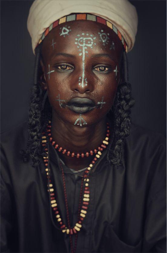 Wodaabe woman. Chad Jimmy Nelson