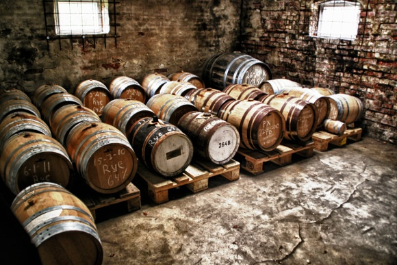 Stauning Whisky Distillery Cask Storage  http://whisser.com/2013/01/21/stauning-peated-1st-edition-at-the-distillery/