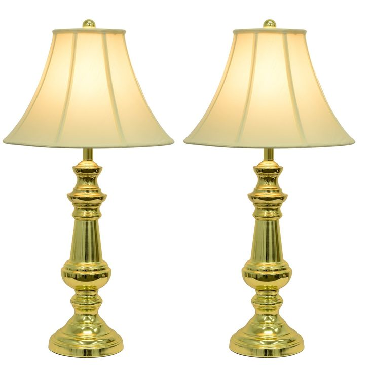 Polished Brass Touch Table Lamp