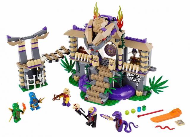 70749 LEGO Ninjago Temple of Anacondrai Winter 2015 LEGO Ninjago Set