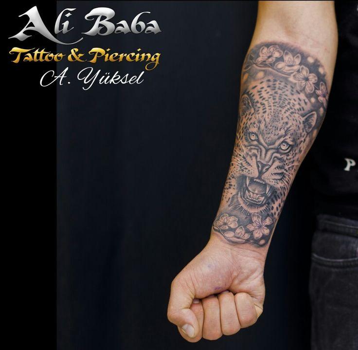 Tiger tattoo kaplan dövmesi bodrum tattoo bodrum dövme ali yüksel ali baba tattoo body art piercing dovme