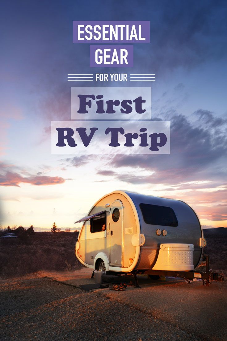 Full time travelers' ultimate shopping list for gearing out your RV or travel camper. Get all of your essential gear for your first RV trip.
