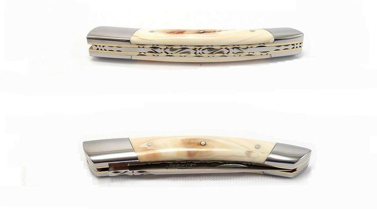 couteau Thiers Elit Arto 2 mitres manche phocochère : couteaux de poche Thiers, couteaux pliants Arto, couteau thiers original