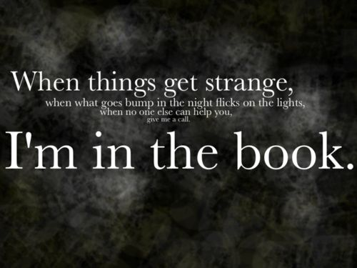 Things Get Strange by Tzadikim ~ The Dresden Files