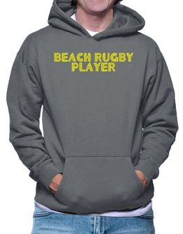 Line Word Beach Rugby Player